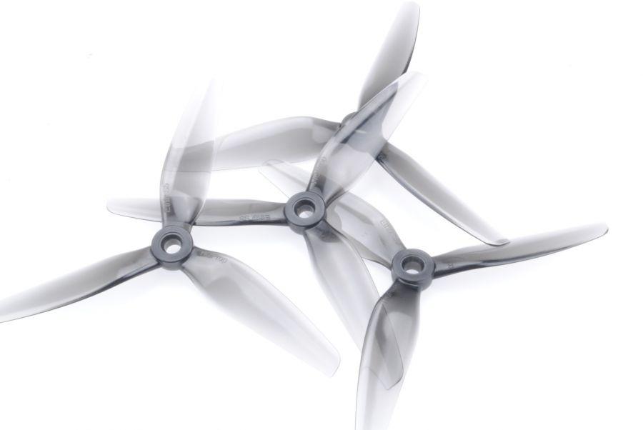 Пропеллеры Ethix S5 Light Grey трёхлопастные (2 пары)