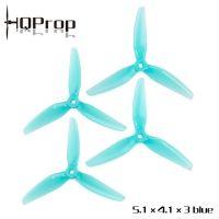 Купить пропеллеры HQProps POPO 5.1X4.1X3 трёхлопастные (2 пары) в интернет магазине QUADRO.TEAM