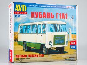 Сборная модель Автобус Кубань Г1А1