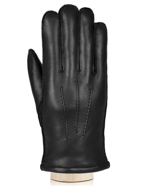 Зимние кожаные перчатки ELEGANZZA