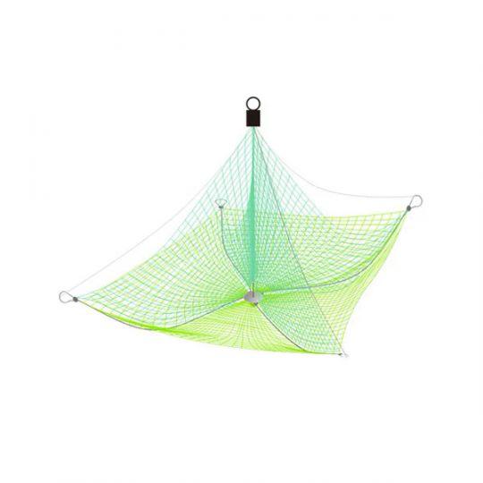 Подъемник зимний Хапуга с косынкой 1,15х1,15 м ячея: сетки -20 мм, косынок - 22 мм