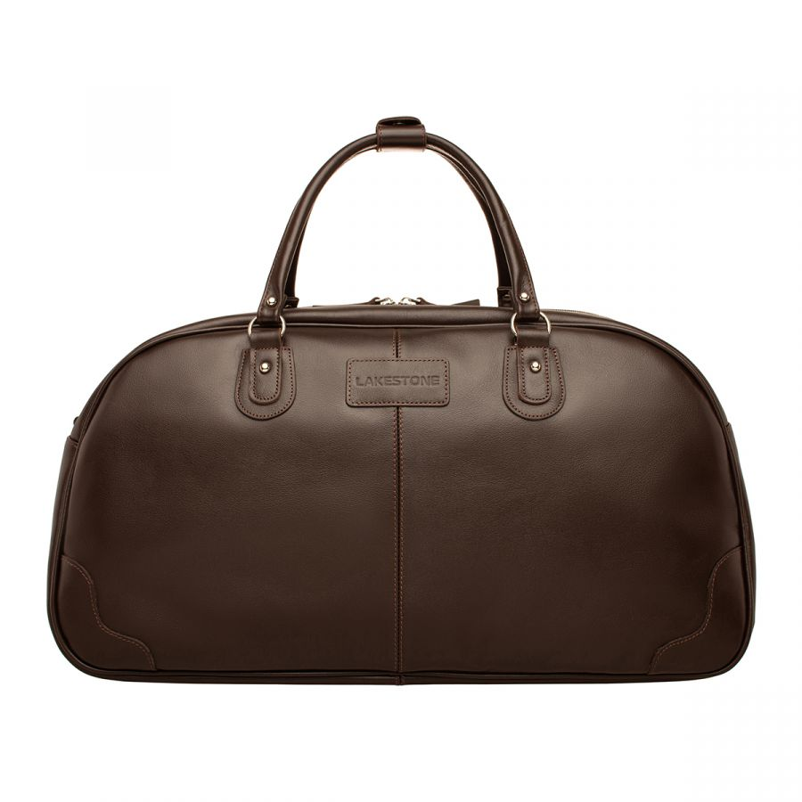 Кожаная Дорожная сумка LAKESTONE Jutland Brown