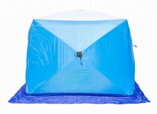Палатка   зимняя Стэк КУБ 2 трехслойная LONG дышащая 210*180*175
