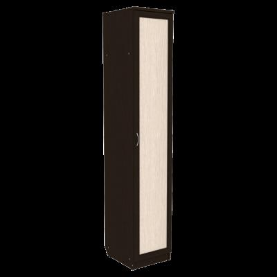 Шкаф для белья со штангой и полками арт. 105 (венге)