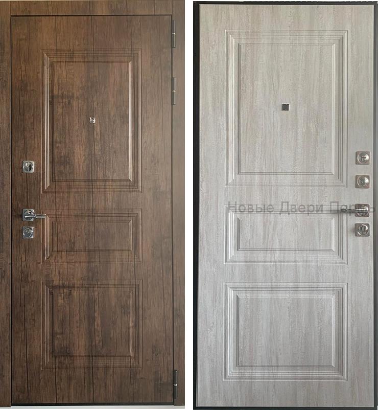 Входная дверь ДИПЛОМАТ 2Р 3К