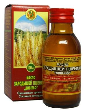 Масло зародышей пшеницы «Дивеево» 100%, 250мл