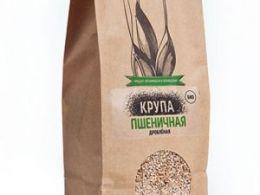 Крупа пшеничная дробленая «Черный Хлеб», 500г
