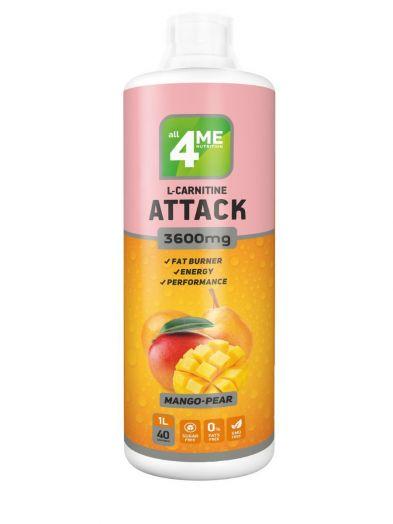 4Me Nutrition - L-carnitine + Guarana ATTACK 3600