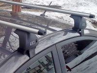 Багажник на крышу Volkswagen Jetta A6 (2010-19), Евродеталь, аэродинамические дуги