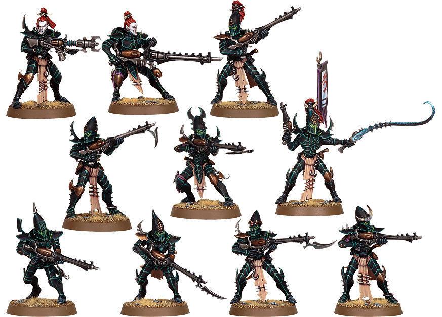 Warhammer 40,000: Drukhari Kabalite Warriors
