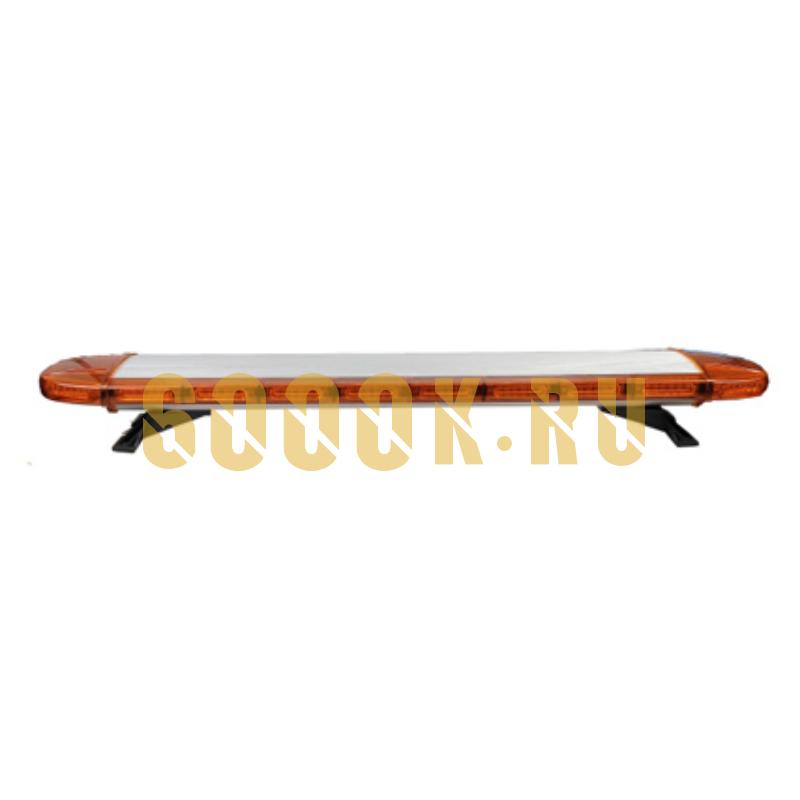 Светодиодная световая сигнальная балка Буран 88 ватт EPISTAR оранжевого света