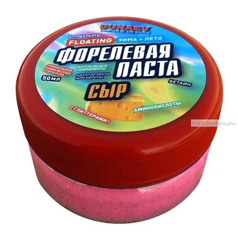 Паста Dunaev 50мл Форель Сыр Красная