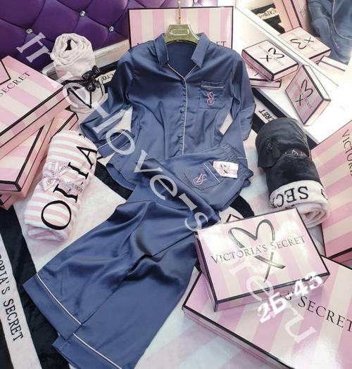 720117- Цена за 1 шт. Пижама двойка Victoria'S Secret (+маска для сна)