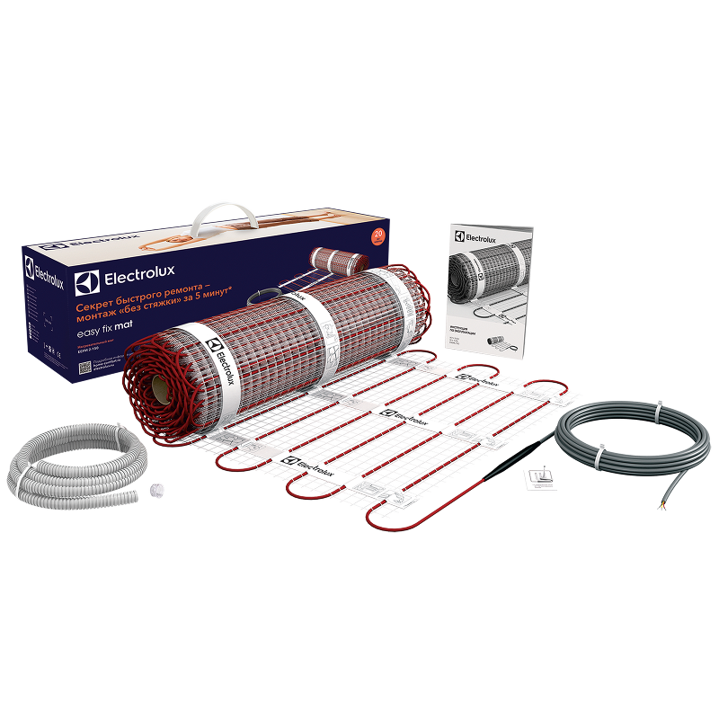 Нагревательный электрический мат Electrolux Easy Fix Mat EEFM 2-150-10 (площадь обогрева 10 м2)