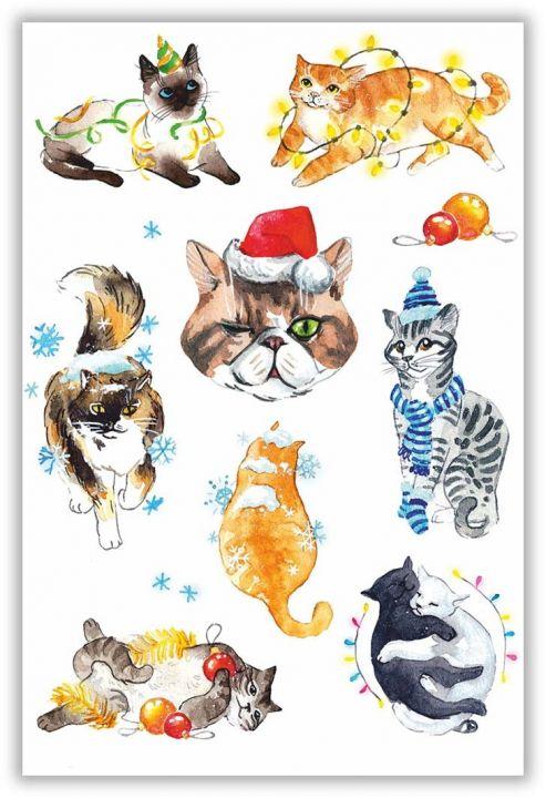 Новогодние котики