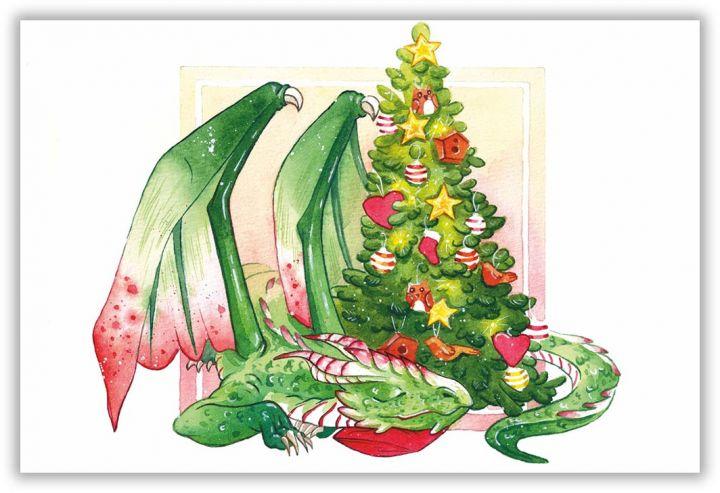 Рождественский дракон