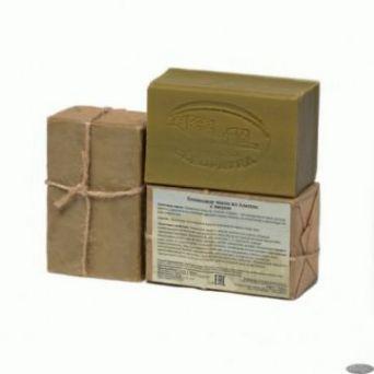 Мыло алеппское оливковое МЁД, 1 шт./~150 гр, ТМ КЛЕОПАТРА