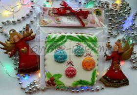"""Новогодние пряники """"Ёлочные шары"""" Подарки на Новый Год"""