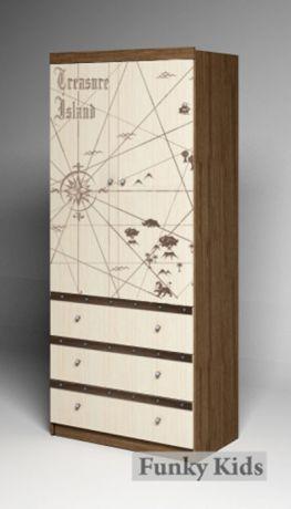 Шкаф двухдверный Пираты ПР-08