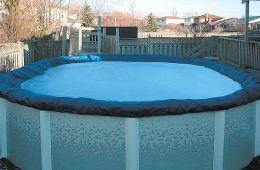 Покрывало брезентовое Atlantic Pools 4.9х3.05 м (фигурное)