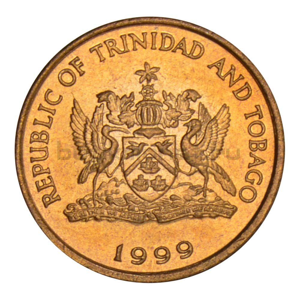 1 цент 1999 Тринидад и Тобаго