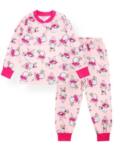 """Пижама для девочек 2-6 лет Bonito """"Кошечка"""" розовый"""