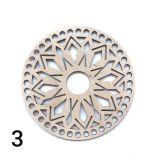 Круг резной фанера 4 мм 16 см 3