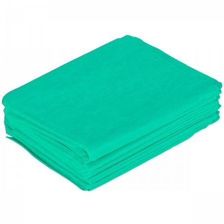 Простыня одноразовая 200*70, (СМС 20), зеленая, №10 шт.