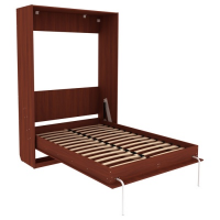 Кровать подъемная 1400 мм (вертикальная) Арт. КД14 в цвете итальянский орех
