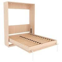 Кровать подъемная 1600 мм КД16 (молочный дуб)