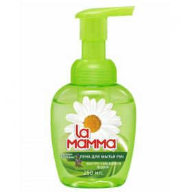 Пена La Mamma для рук с ароматом вербены, 250мл