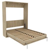 Кровать подъемная 160 мм (вертикальная) Арт. К04 в цвете арктика