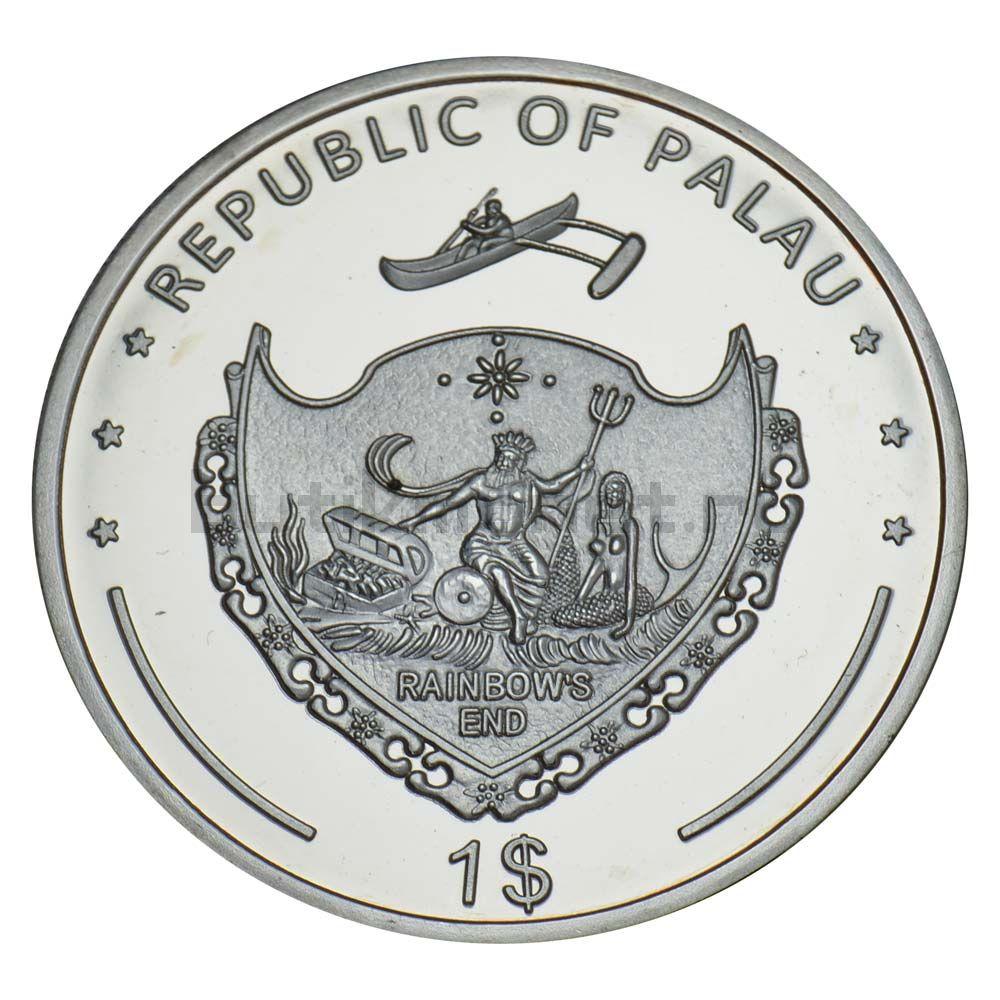 1 доллар 2011 Палау Медный морской окунь (Вымирающие виды)