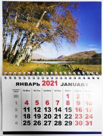 Календарь настенный 183х235мм в ассортименте