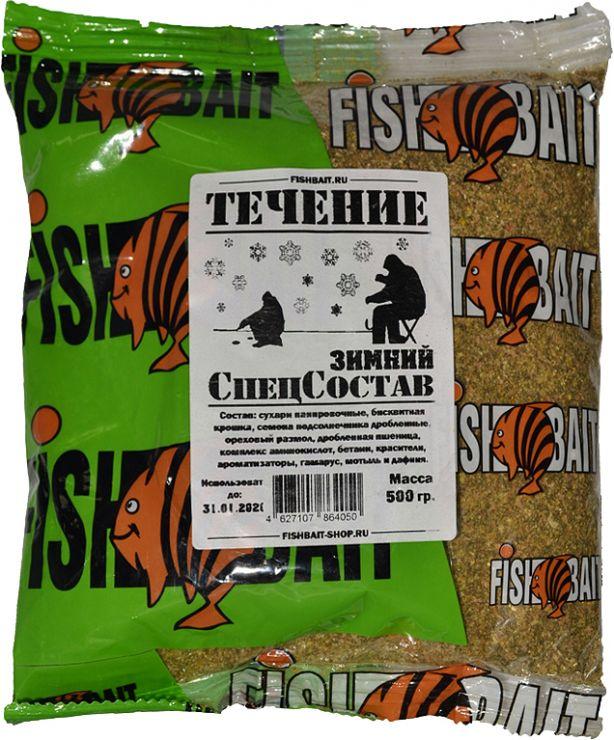 Прикормка Fishbait Зимний «СПЕЦ СОСТАВ» 500 г Течение