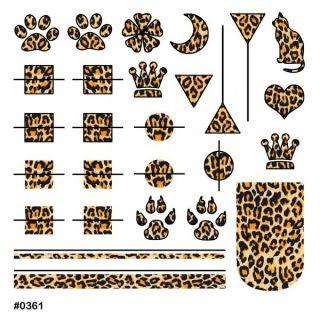 Слайдер-дизайн для ногтей № 0361