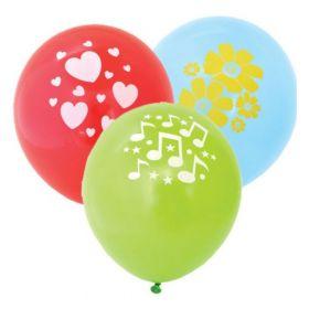 Воздушные шары ACTION! API0071/M с одноцветным рисунком 1шт
