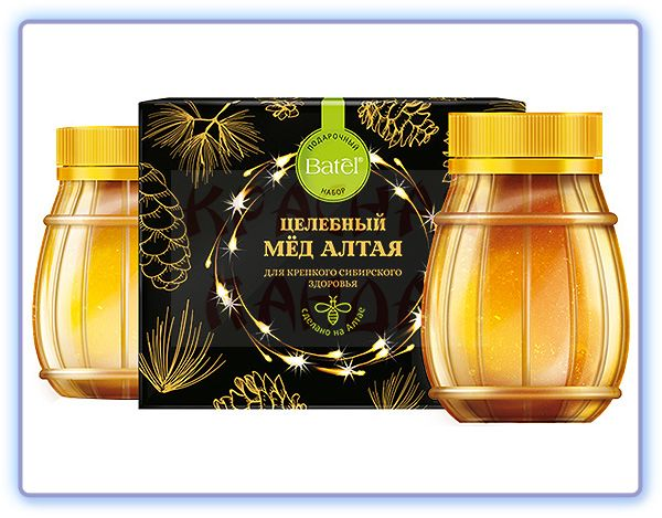 Batel Подарочный набор Целебный мед Алтая