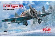 И-16 тип 29, Советский истребитель ІІ МВ