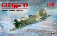 И-16 тип 17, Советский истребитель ІІ МВ