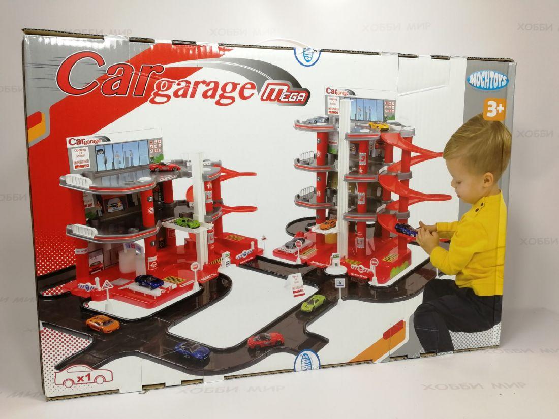 Детский гараж парковка 4 уровня 11850