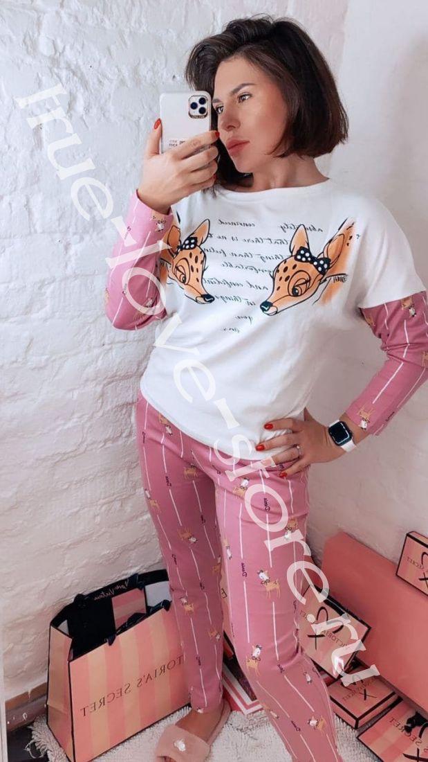 ТК-2136 - Цена за 6 шт. Пижама из хлопка