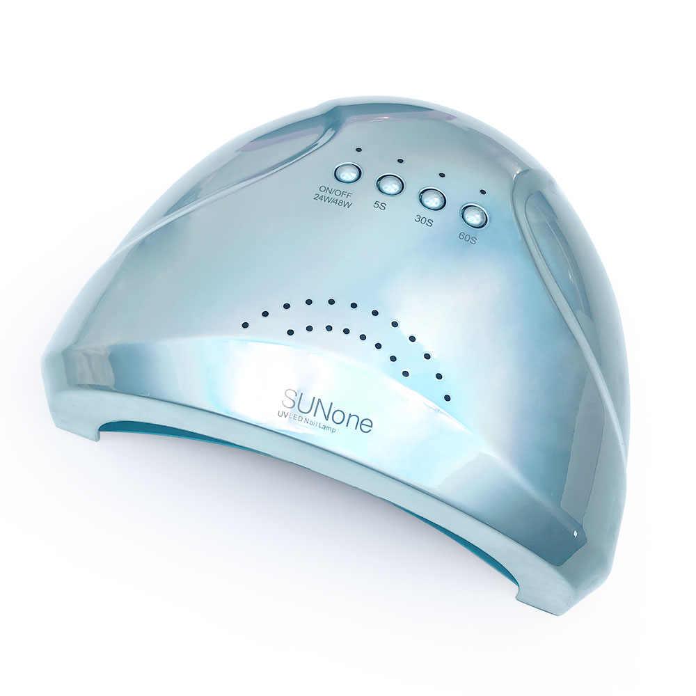 Лампа  SUN 1 (Хром) - 48/24W UV/LED РЕПЛИКА