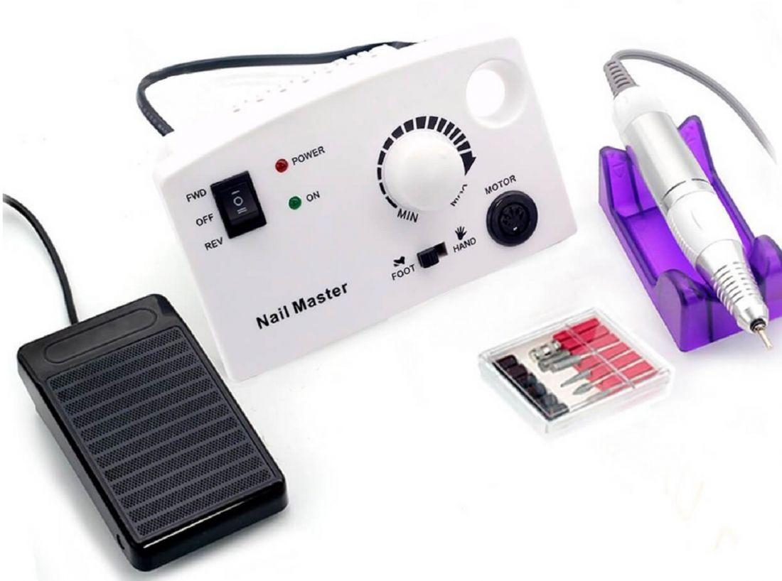 Аппарат для маникюра и педикюра ZS 602 до 35000тыс. оборотов 45W (педаль)