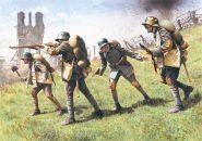 Фигуры, Немецкая штурмовая пехота 1917 -1918
