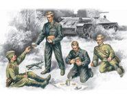 Фигуры Советский танковый экипаж, 1943-1945