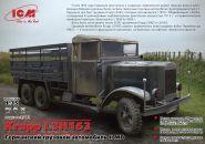 Krupp LH163, немецкий грузовой автомобиль, 2МВ