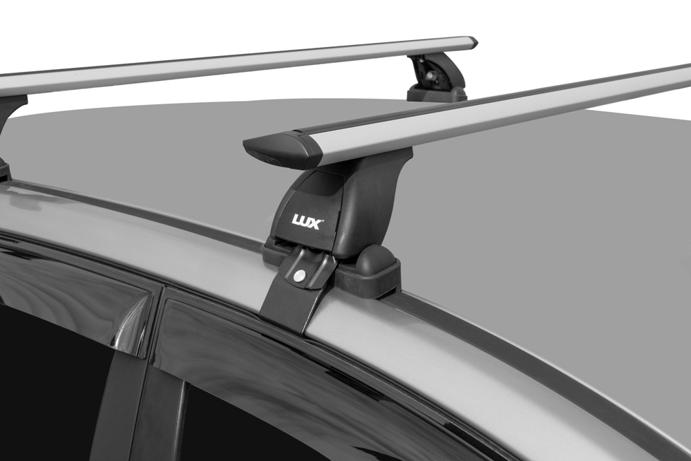 Багажник на крышу Toyota Corolla 2013-..., седан, Lux, крыловидные дуги