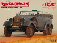 Тур G4 (Kfz.21), германский штабной автомобиль 2МВ