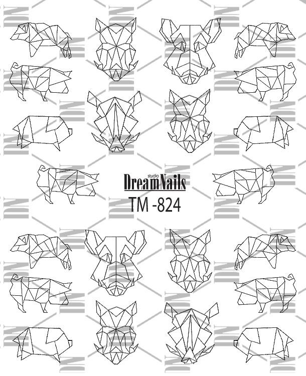 Слайдер Dream Nails TM-824